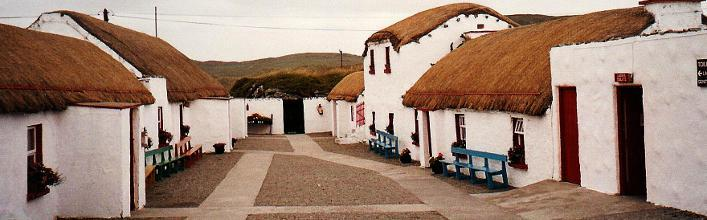 Doagh Famine Village just 5 minutes from Ballyliffin Lodge & Spa