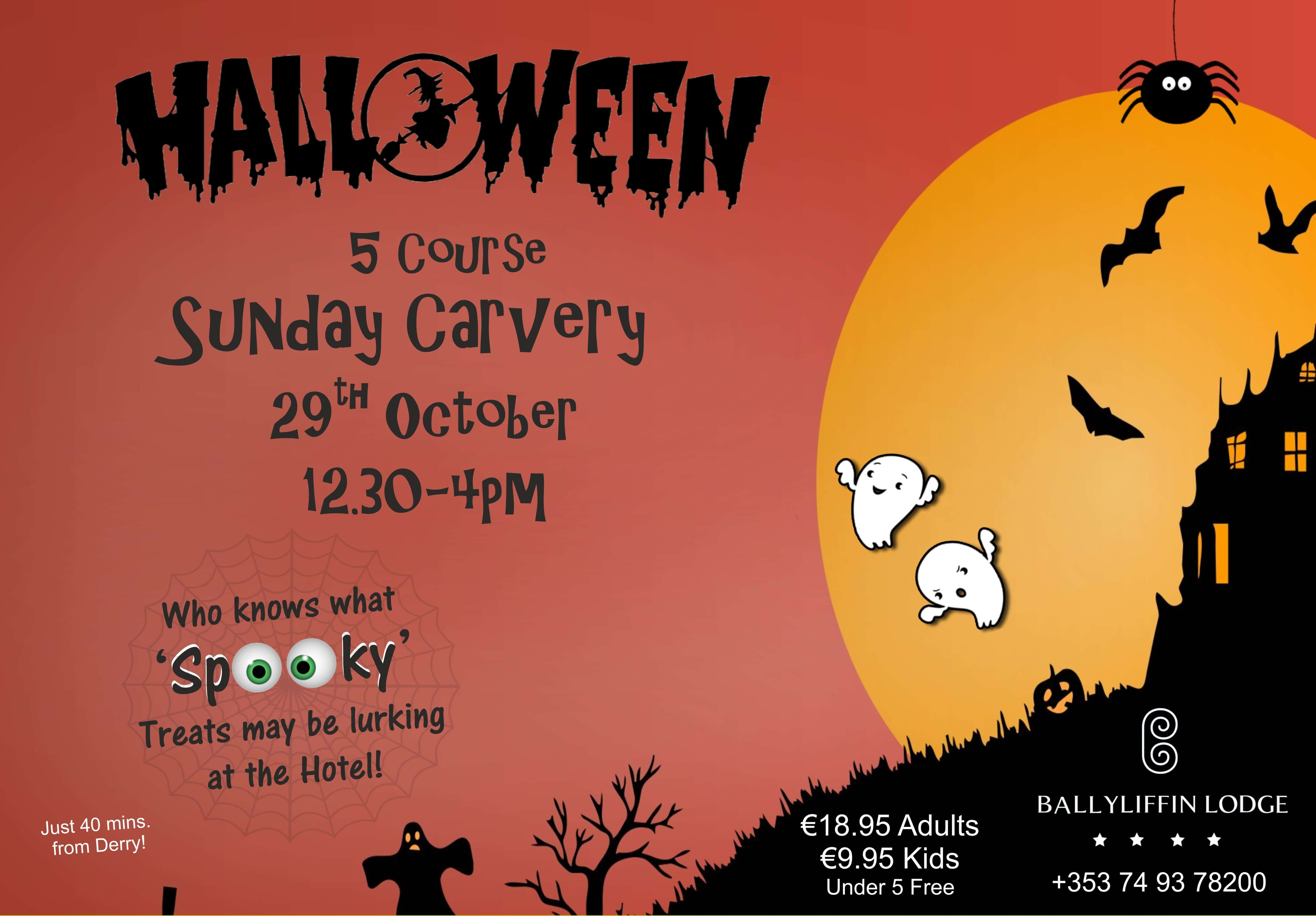 Ballyliffin Lodge Halloween Carvery