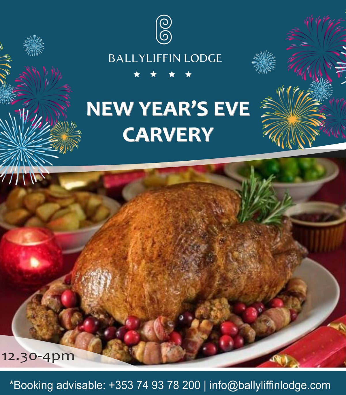 New Years Eve Carvery