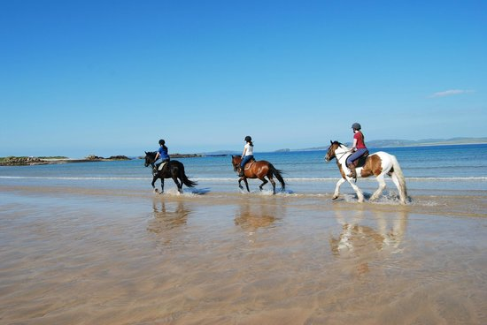Horse Riding at Tullagh Bay from Ballyliffin Lodge & Spa