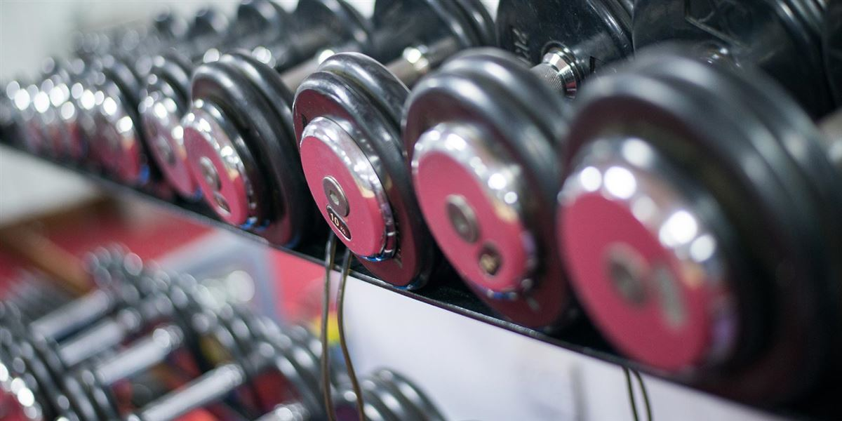Gym and weight facilities at Donegal hotel leisure club