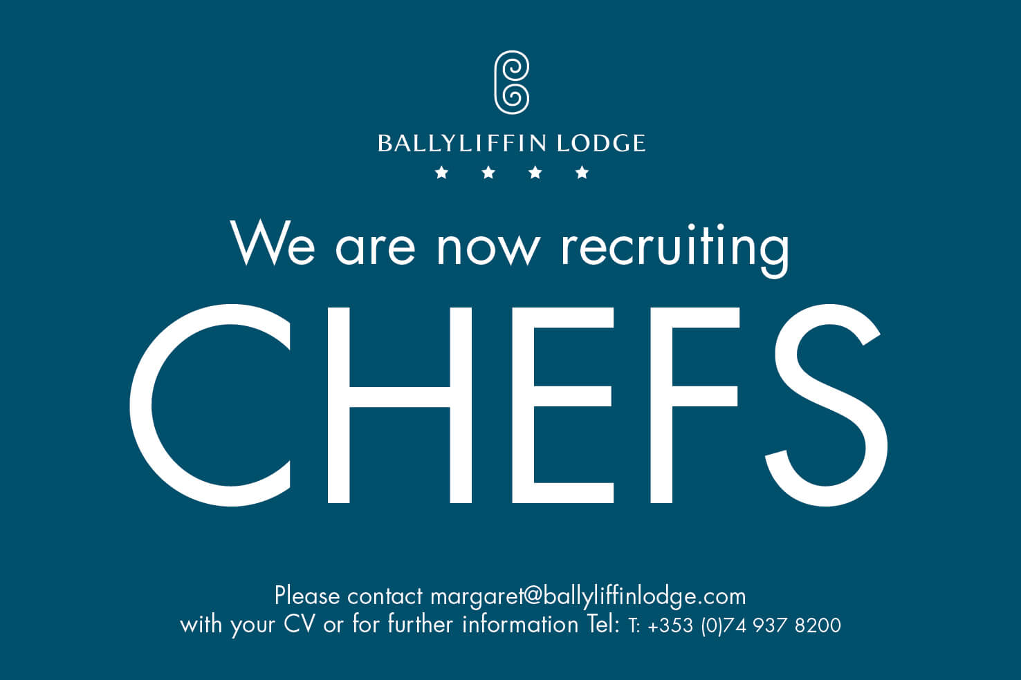 Chef jobs at Ballyliffin Lodge & Spa Donegal