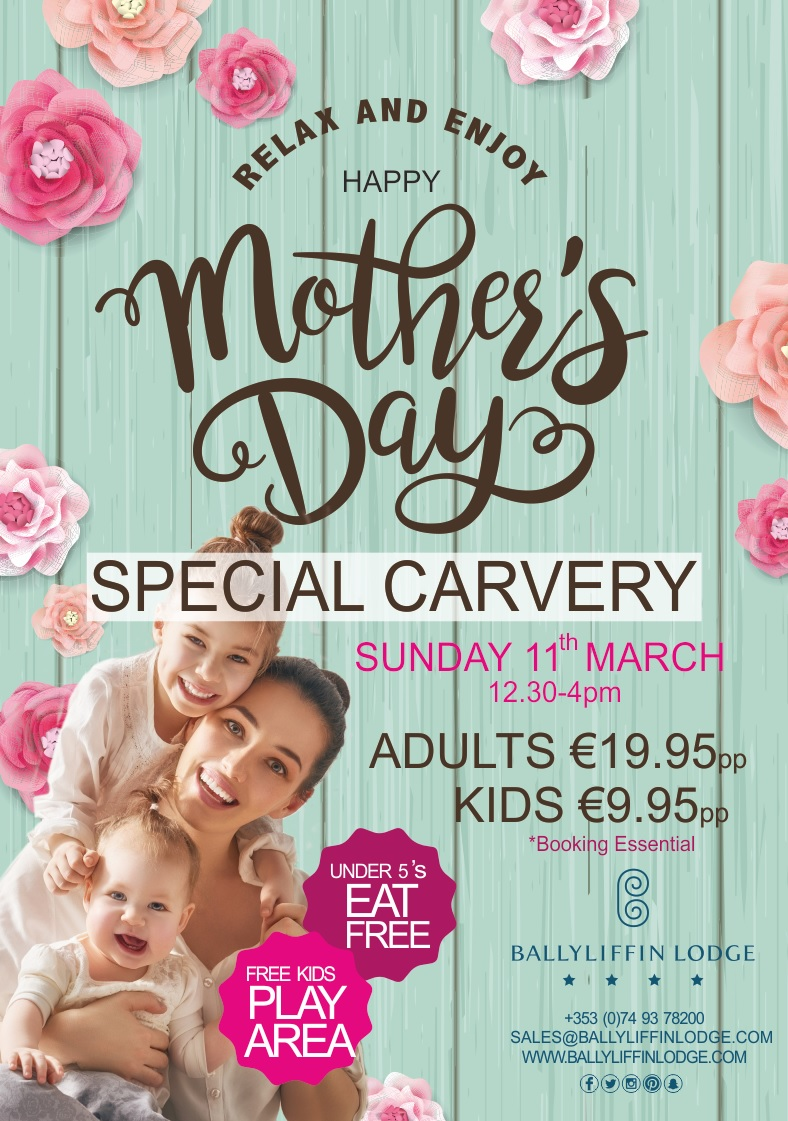 Mother's Day Carvery at Ballyliffin Lodge & Spa