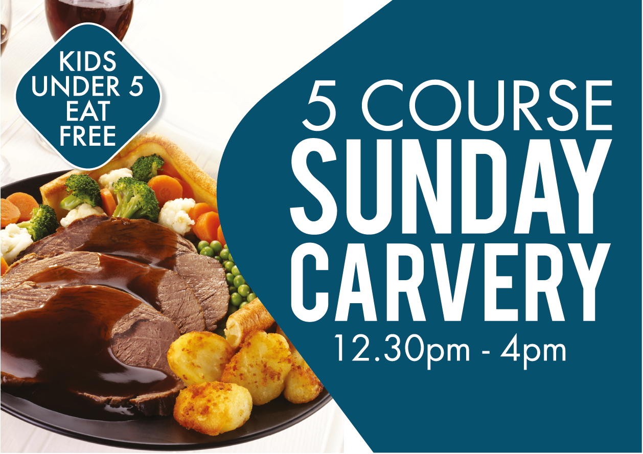 Sunday Carvery at Ballyliffin Lodge & Spa Donegal Ireland